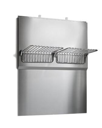 Elica EXXBSK3 Stainless Steel Backsplash and Warming Racks for Range Hoods