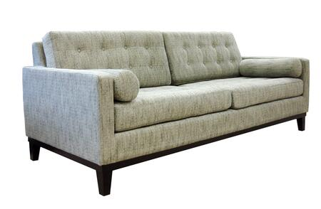 Armen Living LC7253X Centennial Sofa with Mid-century Design, Button-tufting Detail and Fabric Upholstery in
