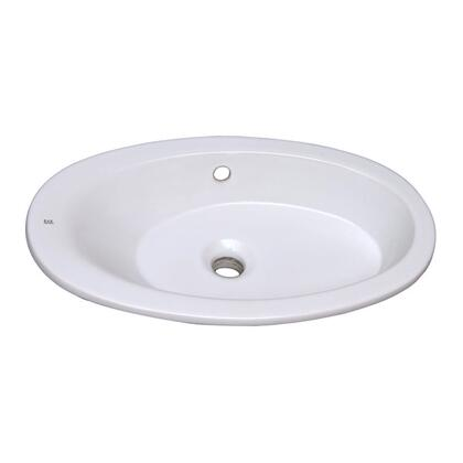 Barclay 4327WH White Sink
