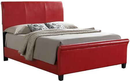 Glory Furniture G2759KBUP G2700 Series  King Size Sleigh Bed