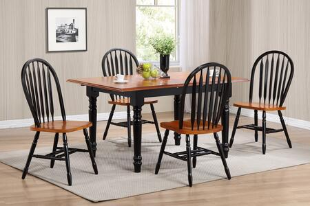 Sunset Trading DLUTLB3660820BCH5PC Sunset Selections Dining