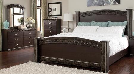 Milo Italia BR387QPSBDMC Carson Queen Bedroom Sets