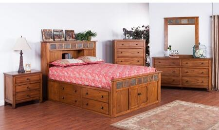 Sunny Designs 2334ROSKBDM2NC Sedona King Bedroom Sets