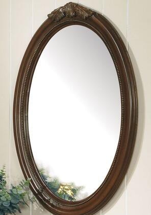 Acme Furniture 11878D Classique Series Oval Portrait Wall Mirror