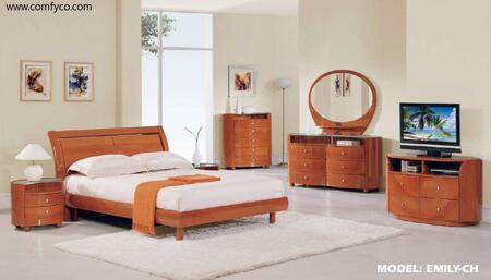 Global Furniture USA EMILYCHKBG Emily King Bedroom Sets