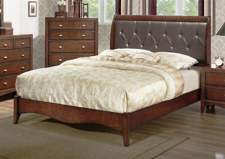 Yuan Tai LA5300Q Landsberg Series  Queen Size Panel Bed