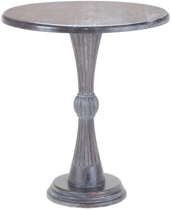 Sterling 7011025 Table Series Transitional Wood Round None Drawers End Table