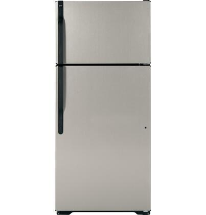 Hotpoint HTJ17CBBSA  Refrigerator with 16.6 cu. ft Capacity in Silver