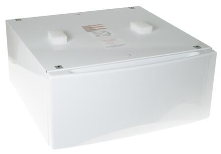 """GE SBSD137H 13"""" Laundry Pedestal with Storage Drawer, in"""