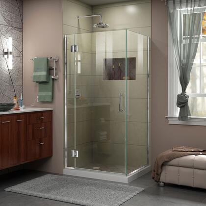 DreamLine Unidoor X Shower Enclosure 6HP 30D 30RP 01