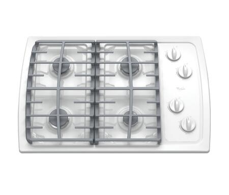 Whirlpool SCS3017RQ  Gas Sealed Burner Style Cooktop, in White