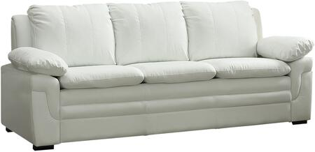 Glory Furniture G287S  Stationary Faux Leather Sofa