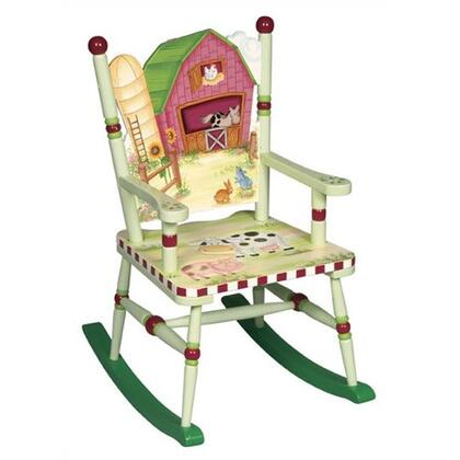 Guidecraft G83561 Farmhouse Series Armless  Wood Frame Not Upholstered Rocking Chair