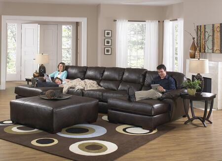 "Jackson Furniture Lawson Collection 4243-75-30-76- 162"" 3-Piece Sectional with Right Arm Facing Chaise, Armless Sofa and Left Arm Facing Chaise in"