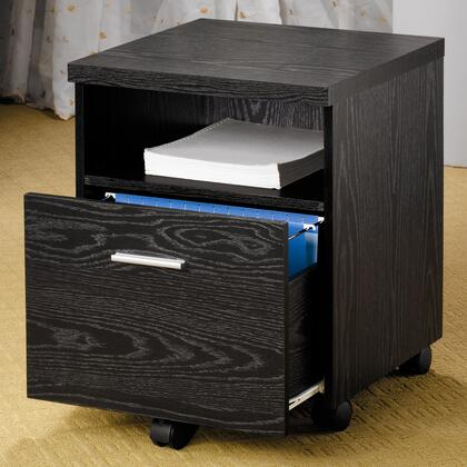 "Coaster 800825 17.75"" Wood Contemporary File Cabinet"