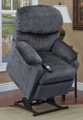MedLift 5200VEL Contemporary Fabric Wood Frame  Recliners