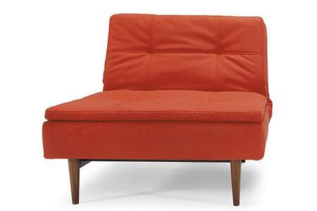 Innovation 94741051c626-3-2 Dublexo Series  Ifelt upholstery with walnut legs Frame  Recliners