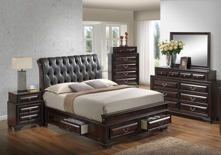 Glory Furniture G8875EKB5DMNCMC LaVita King Bedroom Sets ...