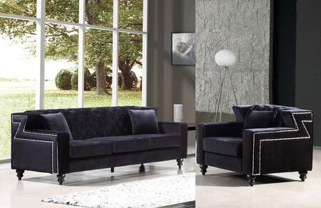 Meridian 6162PCARMKIT3 Harley Living Room Sets