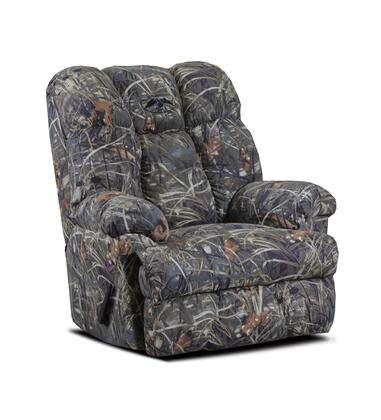 Chelsea Home Furniture 20R26DCM4T Duck Commander Series Rustic Real Tree Max 4 Twill Wood Frame  Recliners