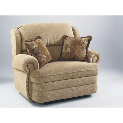 Lane Furniture 20314189512 Hancock Series Traditional Fabric Wood Frame  Recliners