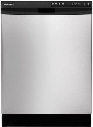 "Frigidaire FGBD2434PF 24"" Gallery Series Built In Full Console Dishwasher with 14 Place Settings Place Settingin Stainless Steel"