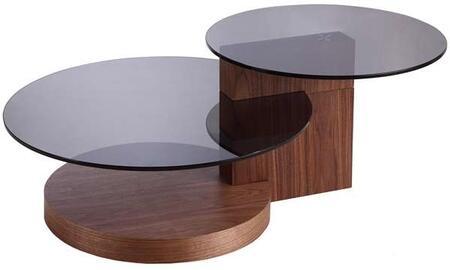 Casabianca TC0159WAL Walnut Modern Table