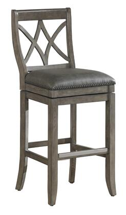 American Heritage 111135 Residential Bonded Leather Upholstered Bar Stool