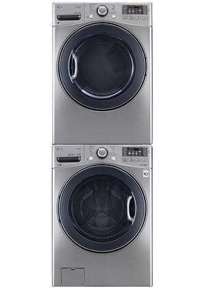 LG LG3PCFL27GSTCKSSKIT1 FrontLoad Washer and Dryer Combos