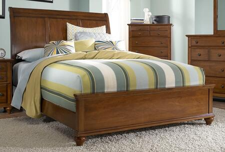 Broyhill HAYDENSLEIGHBEDLC Hayden Place - Light Cherry, Sleigh Bed,