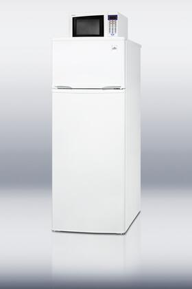 Summit MRF97  White Counter Depth Refrigerator with 8.3 cu. ft. Capacity