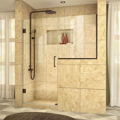 DreamLine UnidoorPlus Shower Door 39 30D 30BP 06