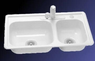Lyons DKS01R335 Kitchen Sink