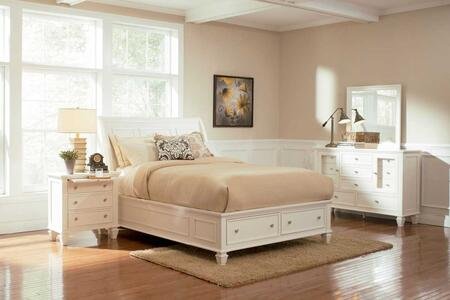 Coaster 201309KW4 Sandy Beach California King Bedroom Sets