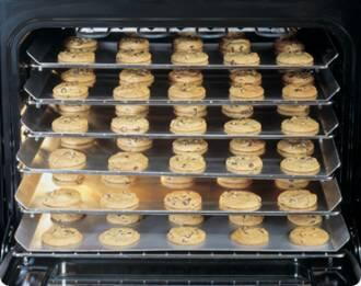 Picture of ACS303 Cookie Sheets Set of 3 for 30 Distinctive  Classic  Renaissance and Discovery Oven or