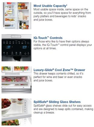 Electrolux Ei23bc35kw 36 Inch Iq Touch Series Counter