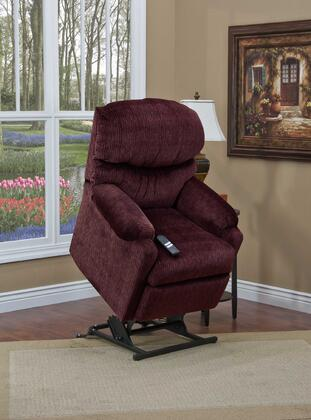 MedLift 5200VV Contemporary Fabric Wood Frame  Recliners