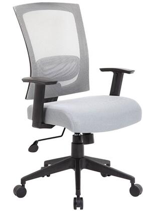 "Boss B6706GY 25"" Adjustable Contemporary Office Chair"