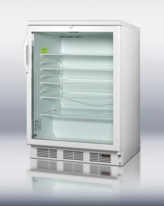 "Summit SCR600LBIPUB 24"" 5.5 cu. ft. Beverage Center, in Stainless Steel"