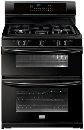 "Frigidaire FGGF304DLB 30"" Gallery Series Gas Freestanding Range with Sealed Burner Cooktop, 3.5 cu. ft. Primary Oven Capacity, Oven in Black"