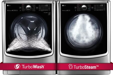 LG 719186 TurboWash Washer and Dryer Combos