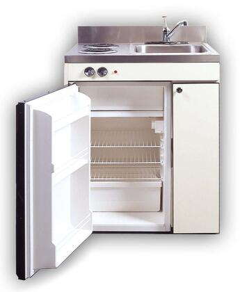 Acme Compact Kitchen With Sink Compact Refrigerator And Optional