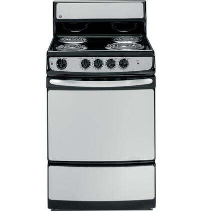 "GE JAS02SNSS 24"" QuickClean Series Electric Freestanding"