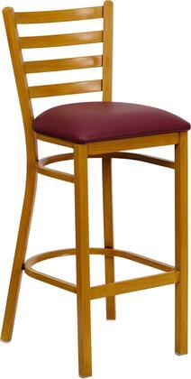 Flash Furniture FDDG697BLADBARNATBURVGG Hercules Series Commercial Vinyl Upholstered Bar Stool
