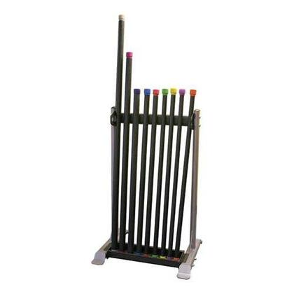 Body Solid Body Solid Fitness Bar Rack with 9 Fitness Bars