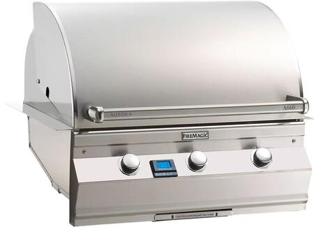 "FireMagic A660I5E1X Aurora 32.5"" Built-In Grill with E-Burners and Digital Thermometer"