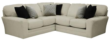 """Jackson Furniture Everest Collection 4377-62-42- 104"""" 2-Piece Sectional with Left Arm Facing Section with Corner and Right Arm Facing Loveseat in"""