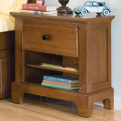 American Woodcrafters 82000410  Rectangular Wood Night Stand