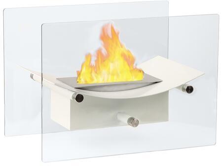 Moda Flame GF301900W  Vent Free Bioethanol Fireplace