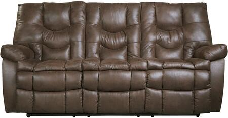 Benchcraft 9220187 Burgett Series Reclining Fabric Sofa